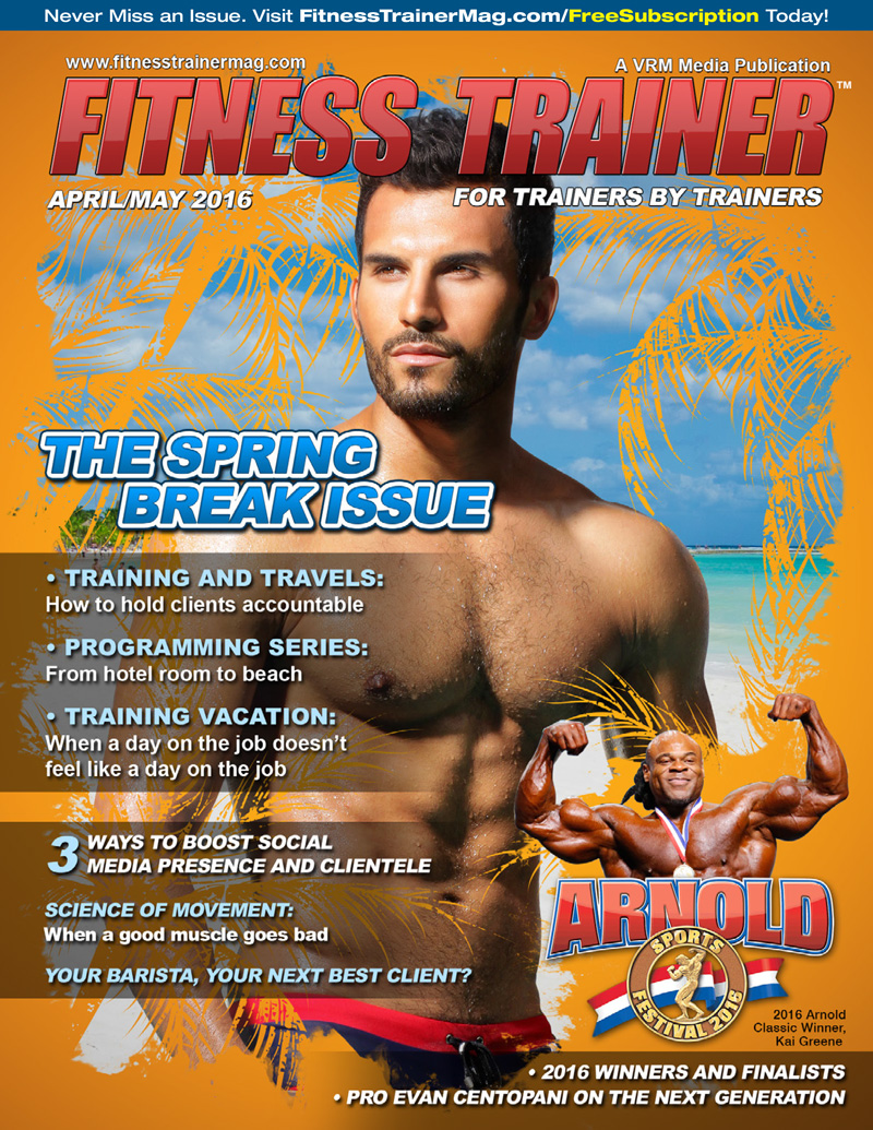 Fitness Trainer Magazine….Subscribe Today For Free!